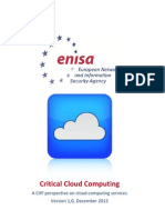 Critical Cloud Computing V10