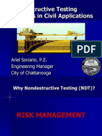 Nondestructive Testing Methods in Civil Applications