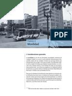 BarranqulliaInforme de Calidad de Vida 2008-2009.Movilidad