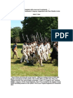 """June 2013 Battle of Monmouth """"Recreated New Jersey Continental Regiment Augmented With Nine-months Levies"""""""