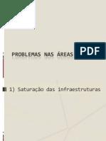 5 Problemas nas áreas urbanas