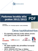 Ansis Spridzāns -  Latvian Privatization Agency