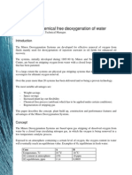 Effective and Chemical Free Deoxygenation of Water, Rev2