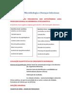 Resumo de Microbiologia e Doenças Infeciosas