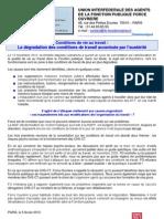 2013-02-07 COMMUNIQUE UIAFP FO CONDITIONS DE VIE AU TRAVAIL.pdf