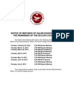 Revised School Board-Meetings 2012-2013