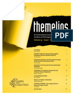 Themelios, Volume 33 Issue 1