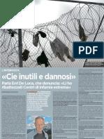 Intervista a Erri De Luca sui CIE - L'Unità 18.02.2013
