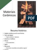 Materiais Ceramicos - impressão