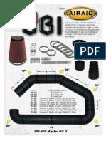 AirAid UBI Parts Flyer