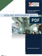 Guia Estudiante 2013-I