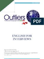Apostila preparatória de entrevistas em inglês