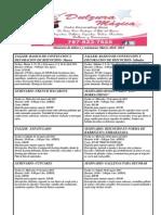 Calendario de talleres y seminarios marzo-abril 2013