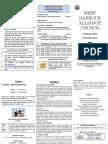 Church Newsletter - 17 February 2013