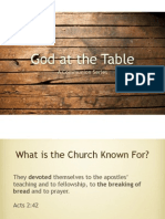 God at the Table