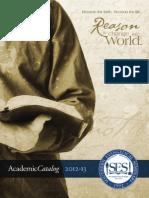 SES Catalog 2012-2013