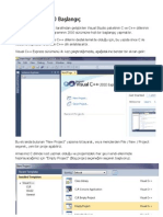 Visual C++ 2010 Başlangıç