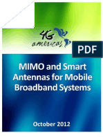 MIMO and Smart Antennas for Mobile Broadband Systems Oct 2012x