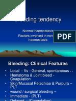 Bleeding Tendency for Dentist