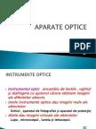 aparate optice