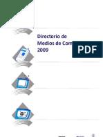 Directorio de Medios 2009