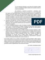 Carta de demisión de Enrique Negueruela da Secretaría de Economía do PSdeG-PSOE