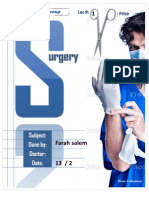 surgery  - Lec 1