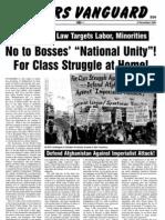 Workers Vanguard No 768 - 09 November 2001