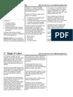 OB Fact Sheets