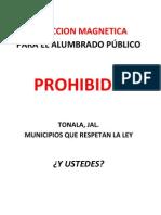 Induccion Magnetica Prohibida
