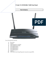 Router TL-WDR3600 - Luces