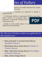 Theories of Failure