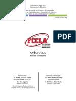 Manual instructivo de FCCLA