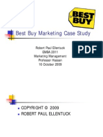 Best Buy Marketing Case Study - Robert Paul Ellentuck