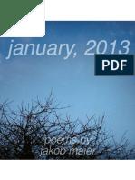january, 2013