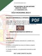 Trabajo de Calculo Diferencial II