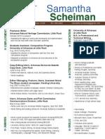 Scheiman ANHC Resume