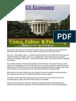 US Economy - Coma, Colon & Full Stop