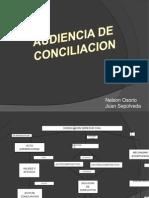 Audiencia de Conciliacion