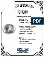 Indicadores Demograficos Merida Yucatan