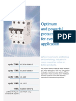 Eaton FAZ Miniature Circuit Breakers (MCBs)