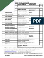 2012-2013 Bahar Bitirme Formu