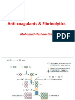 Anticoagulants & Fibrinolytic Therapy