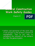 General Construction Work Safety Guides (Chapter 9)