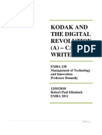 Kodak and the Digital Revolution (a) - Robert Paul Ellentuck