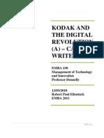 Kodak and the Digital Revolution (a) - Robert Paul Ellentuck