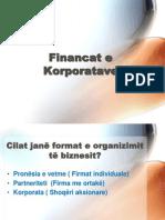 1.Financat e Korporatave