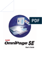Omnipage User's Guide