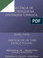 Assistencia de Enfermagem Drenagem Toracica