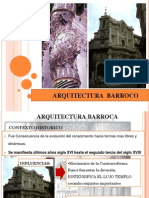 Arquitectura y Urbanismo Barroco